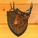 Wildlife Wood Carved Plaques by Bill Jons